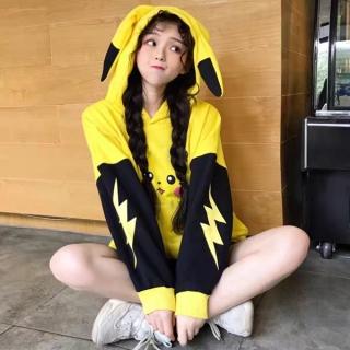 [HCM]Áo hoodie phối màu HHP chất liệu nỉ ngoại thấm hút mồ hô in hình ngộ nghĩnh thumbnail