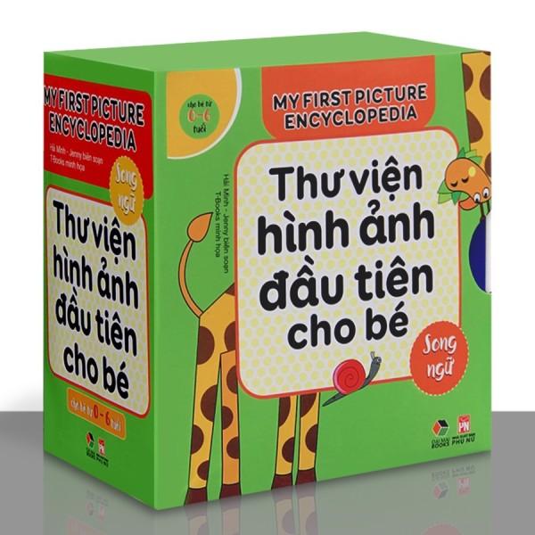 [HCM]Sách - Thư Viện Hình Ảnh Đầu Tiên Cho Bé Từ 0-6 tuổi - Song Ngữ Việt Anh