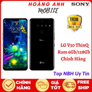 [TRẢ GÓP 0%] Điện thoại LG V50 ThinQ Chạy 5G, Ram 6Gb 128Gb chip rồng Snap855 - Ram 6GB, ROM 128GB - Âm thanh đỉnh cao - Yên Tâm Mua Sắm thumbnail