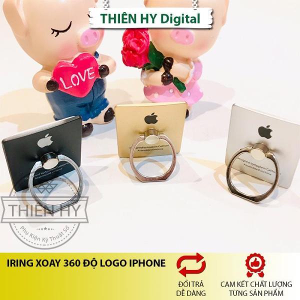 Giá Giá đỡ nhẫn Iring Xoay 360 Độ In Logo Iphone/Oppo (PVN679,PVN680,PVN681,PVN682,PVN683,PVN684)