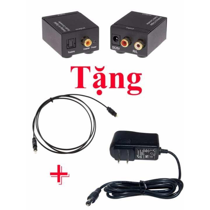Bộ chuyển đổi âm thanh tivi 4k Optical sang Av R/L loa