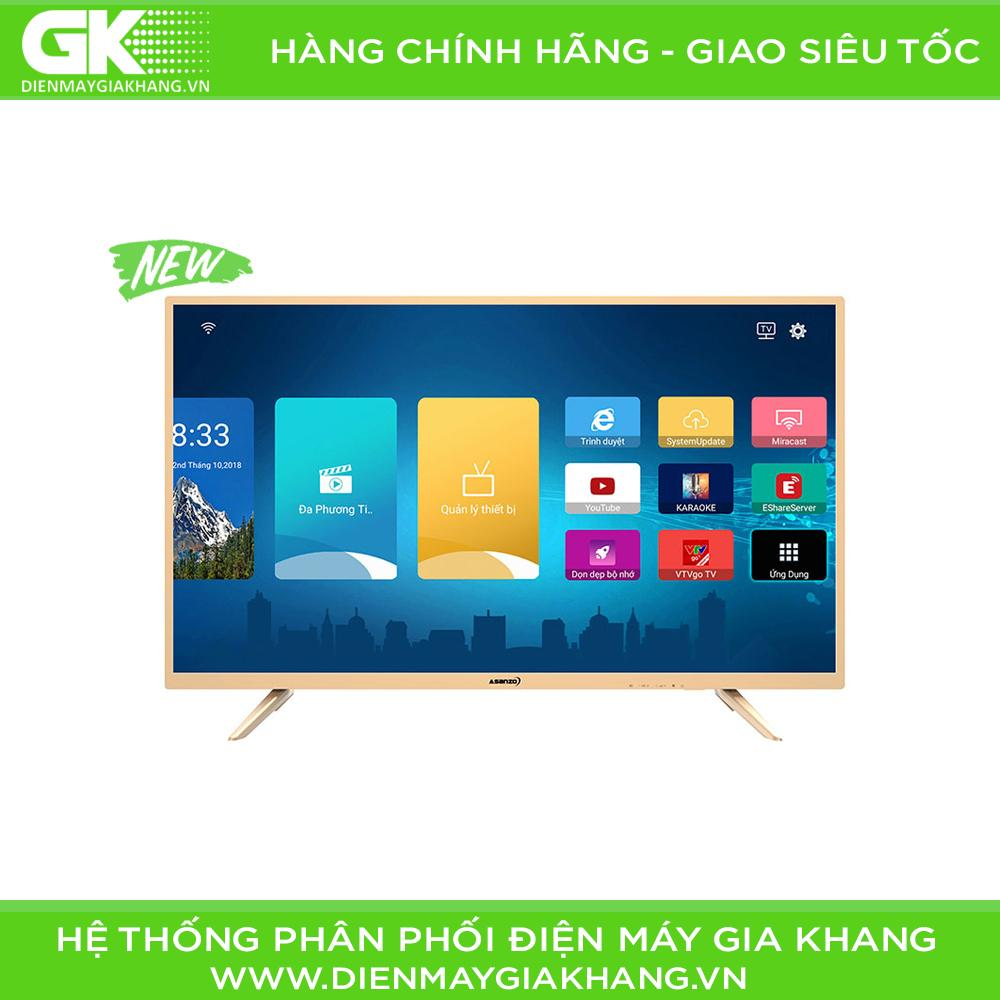 Bảng giá Smart Tivi Asanzo 40 inch Full HD 40AS350