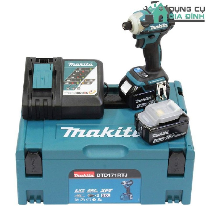 Bộ máy bắn vít Makita DTD171RTJ