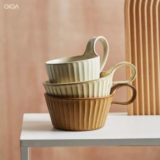 GIGA EssentialCốc cà phê thủ công Nhật Bản Retro cốc gốm Gia Dụng cốc sữa ngũ cốc dung tích lớn Retro đau khổ cốc trà hoa cốc nước thumbnail