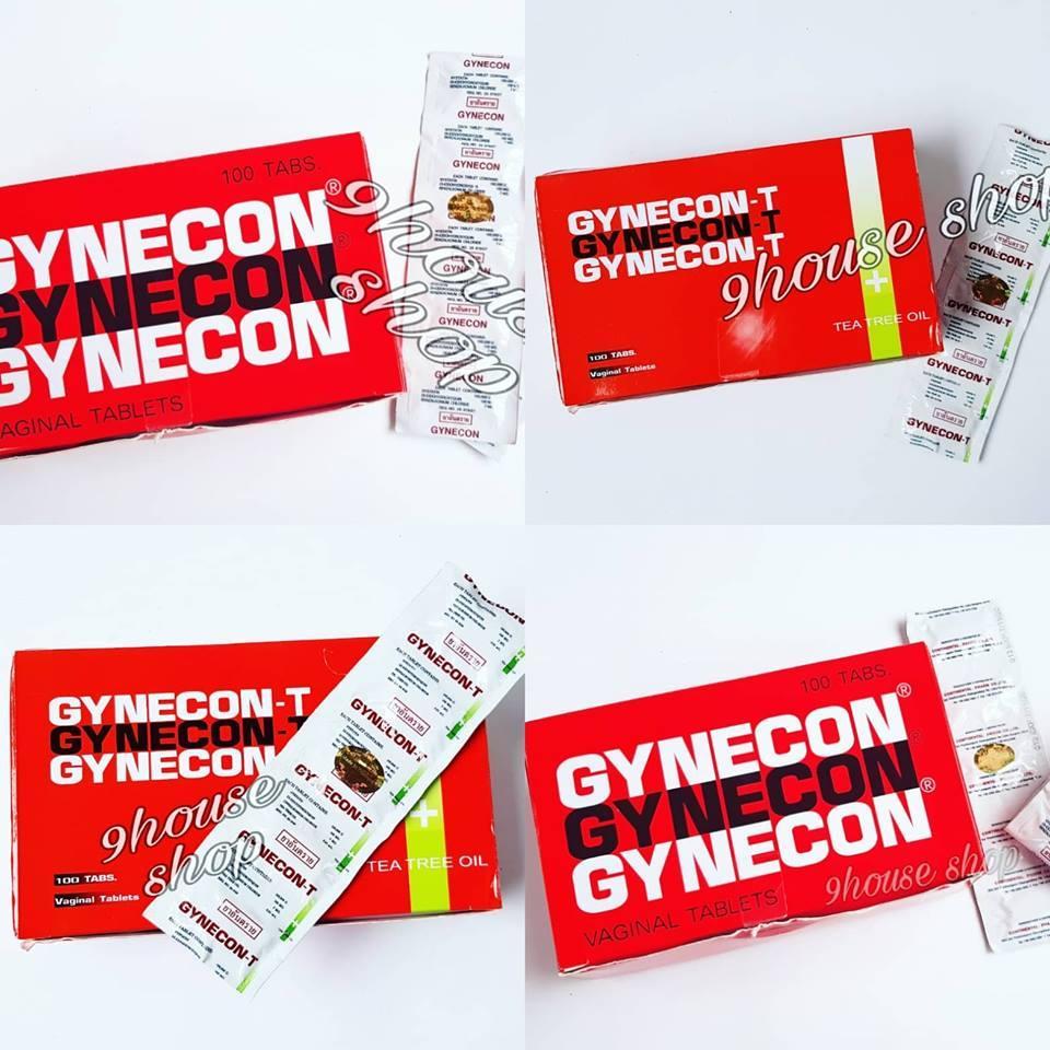 Viên Gynecon Thái Lan (1 vĩ 5 viên) chính hãng