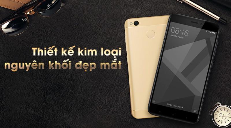 Điện Thoại Xiaomi Redmi 4x zin chính hãng đẹp 98% chơi liên quân freefire ổn