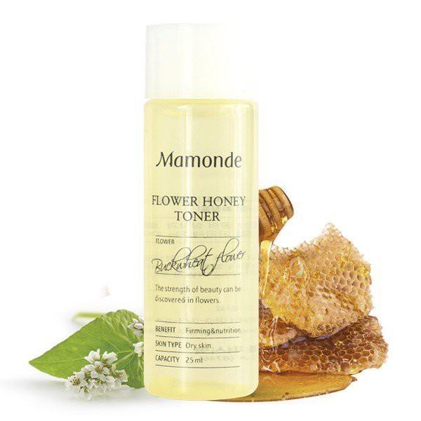 Nước Hoa Hồng Chứa Chiết Xuất Từ Mật Ong Giúp Dưỡng Da Săn Chắc, Tăng Cường Bảo Vệ Da Mamonde Flower Honey Toner