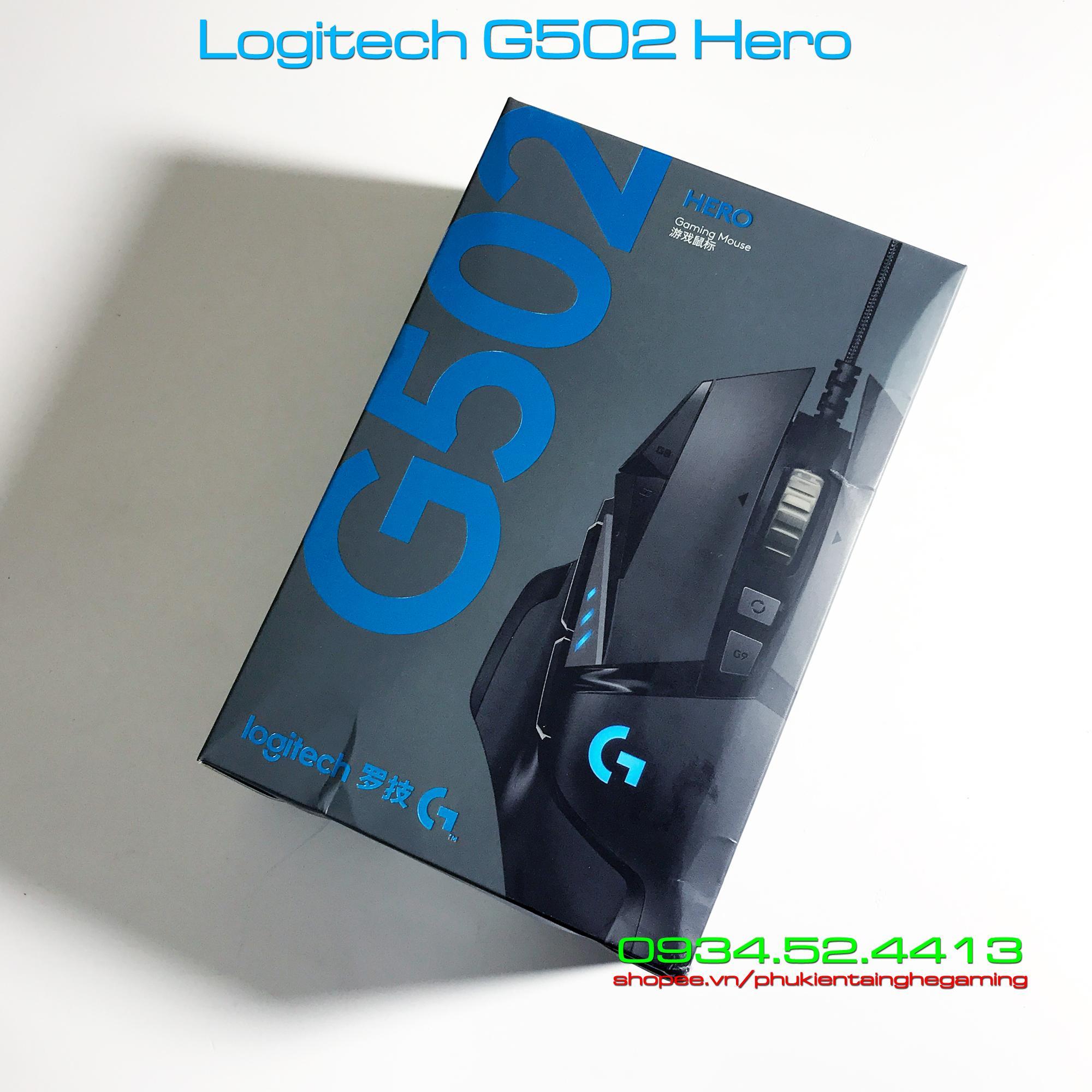 Giá New nguyên seal - Chuột Logitech G502 Hero