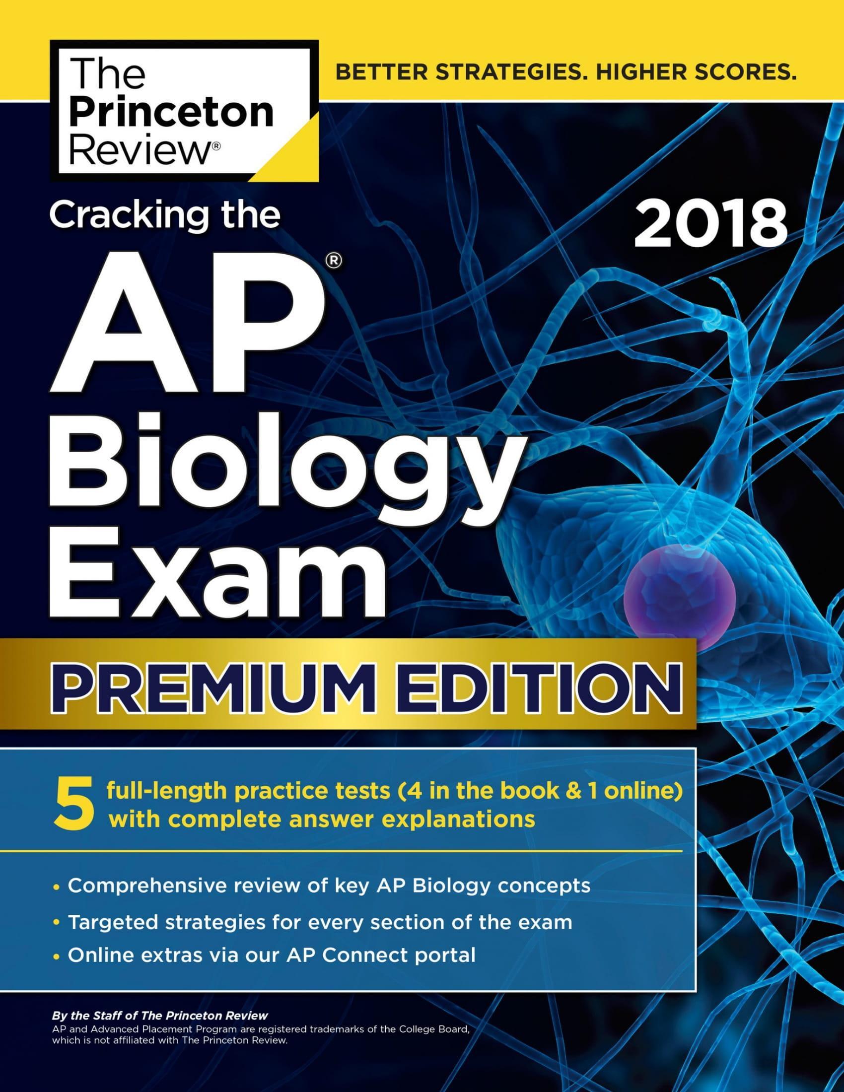 Mua Cracking the AP Biology Exam 2018, Premium Edition