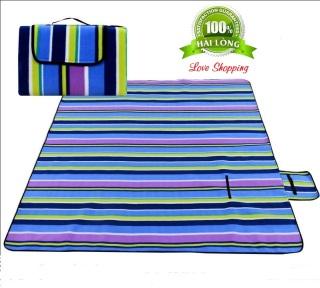 Thảm dã ngoại, thảm du lịch hàng chuẩn loại 1 (Giao màu ngẫu nhiên) bao chất, bao giá thumbnail