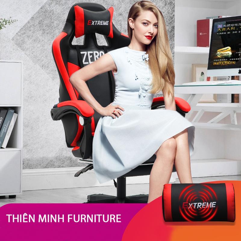 Ghế Game EXTREME ZERO S (đỏ-đen )