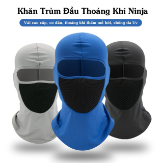 Khăn Phượt Trùm Đầu Ninja Điều Hòa Ari Cao Cấp - Mặt Nạ Chống Nắng, Chống Tia Uv Đa Năng Đi Xe Máy, Câu Cá,Chơi Thể Thao thumbnail