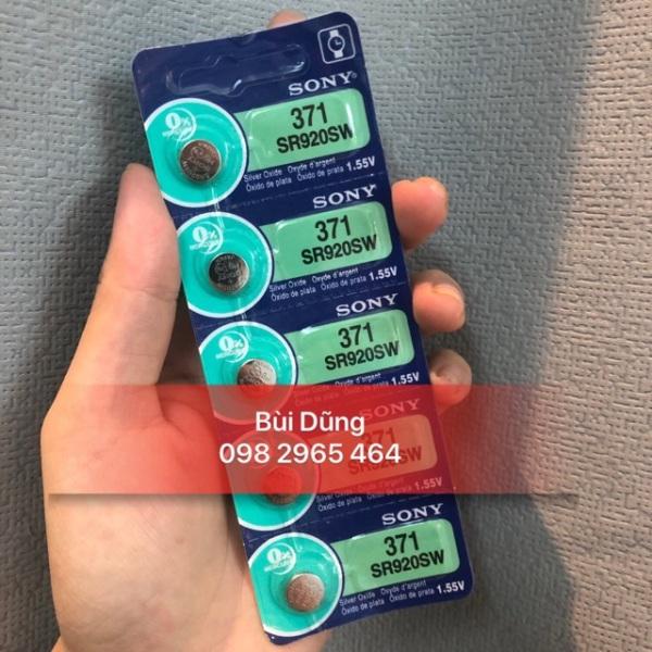 Vỉ Pin Đồng Hồ sony 371 SR920SW - pin sony 920 - 371 sony chính hãng bán chạy