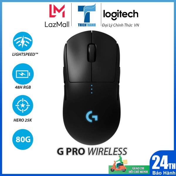 Bảng giá Chuột Game Không Dây Logitech G Pro Wireless - Chính hãng Phân Phối Phong Vũ