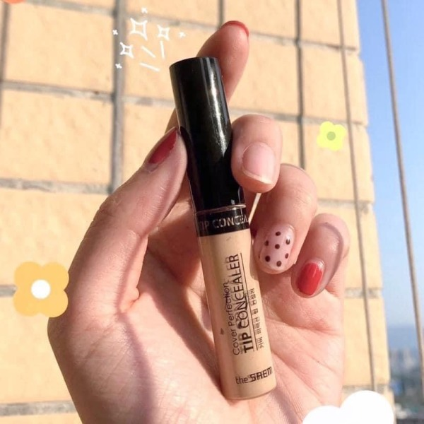 Kem che khuyết điểm cho mắt THE SEAM COVER PERFECTION TIP CONCEALER SPF28 PA++