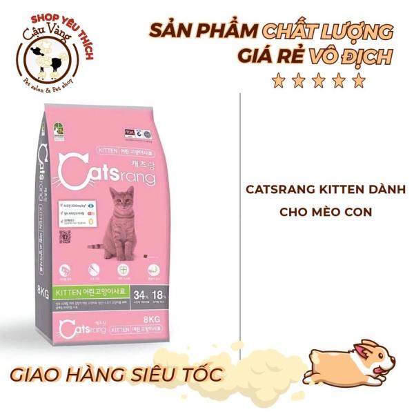 [1.5KG] Thức ăn cho mèo con Hàn quốc Catsrang Kitten