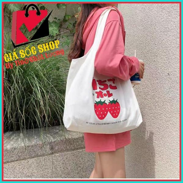 [GSS]Túi đeo chéo nam nữ vải canvas đi học đi làm mang phong cách Hàn Quốc