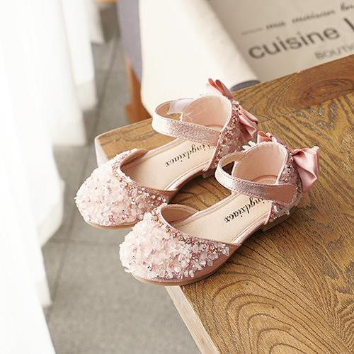 Giá bán giày công chúa bé gái size 21-36  nổi bật