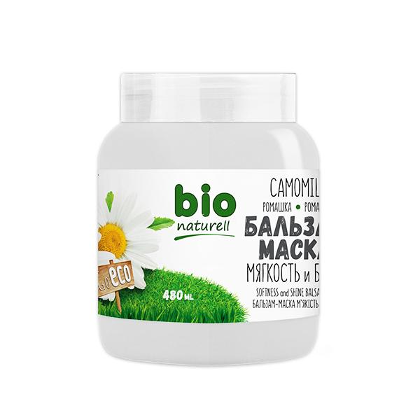 Kem ủ xả giúp tóc chắc khỏe Bio Naturell chiết xuất hoa cúc la mã 480ml