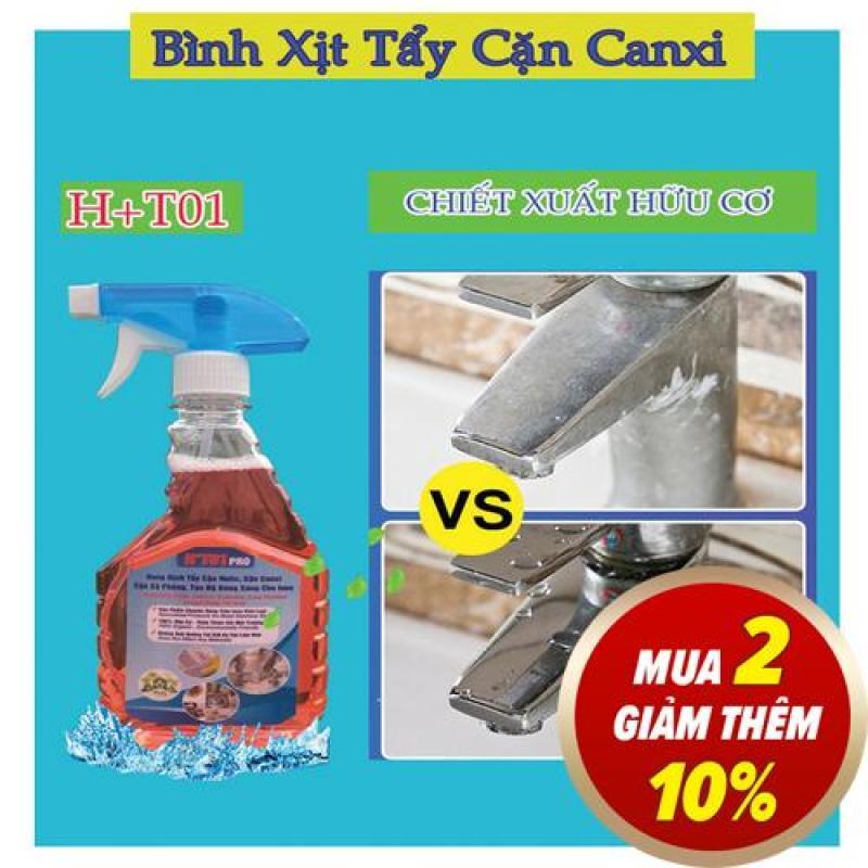 Bình xịt tẩy cặn canxi trên inox CỰC MẠNH!tẩy cặn trên vòi hoa sen,dây xen,vòi nước inox