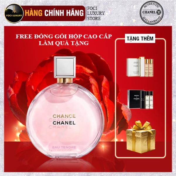 Nước Hoa Chanel Nữ, Dầu Thơm Chanel, Chanel Chance Eau Tendre EDP 100ml