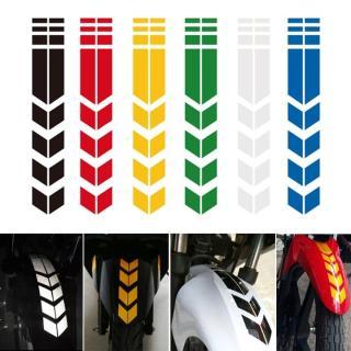 Decal phản quang dán tấm chắn bùn xe máy, xe đạp thumbnail