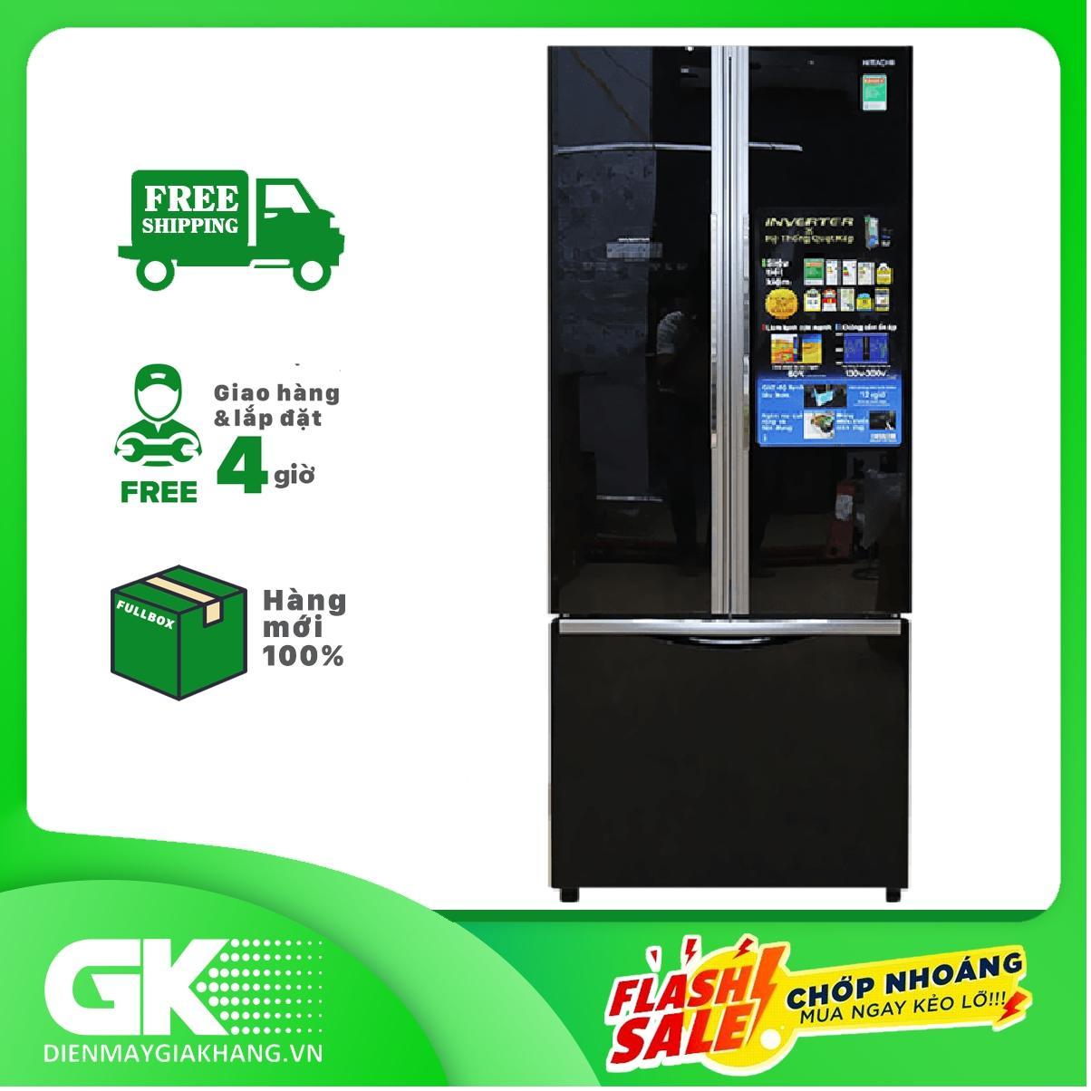 Bảng giá Tủ lạnh 3 cánh Hitachi R-FWB545PGV2 (GBK), 455 Lít Điện máy Pico
