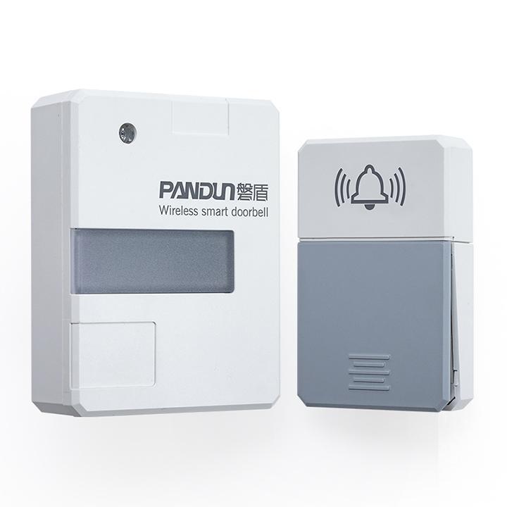 Chuông cửa không dây PANDUN Có đèn ngủ không dùng pin tự tiếp điện chống nước
