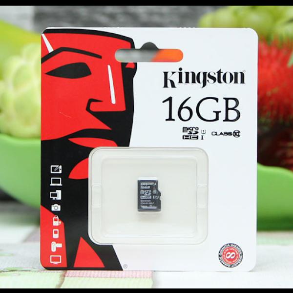 Thẻ nhớ 16gb MicroSD kingtons( hãng )