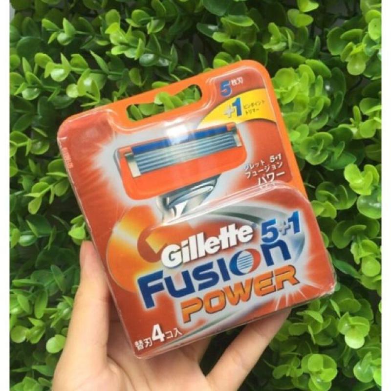 Lưỡi Dao Cạo Râu Vỉ 4 Gillette Nhật Bản
