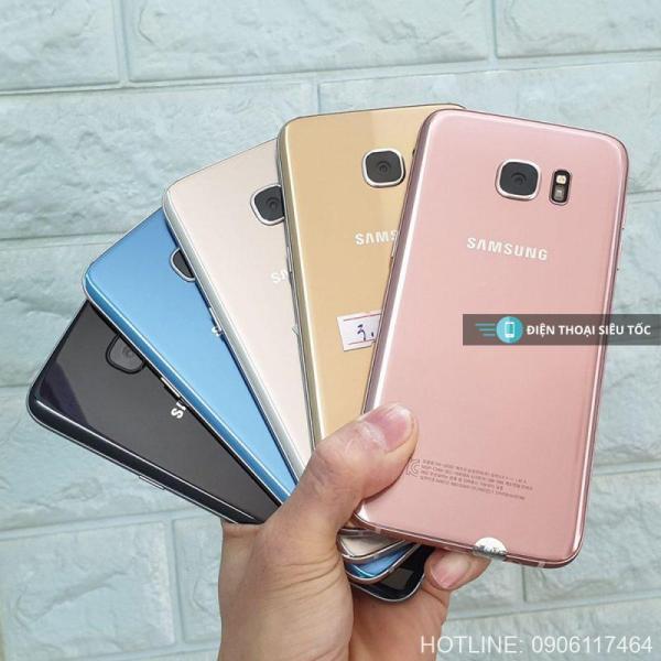 Điện Thoại Samsung Galaxy S7 2SIM VÀ 1 SIM ram 4G/32G - Chơi PUBG ngon Bảo hành 1 đổi 1 toàn quốc, tặng kèm sạc cáp