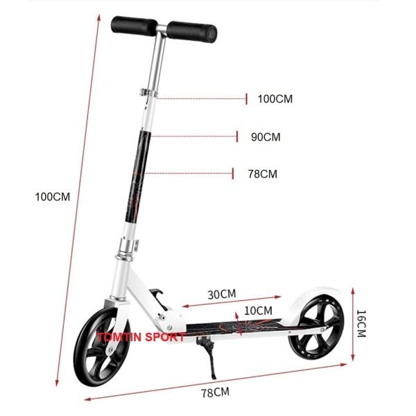 Mua Xe scooter cỡ lớn cho thiếu niên và người lớn chịu tải đến 100kg TOTMTIN SPORT