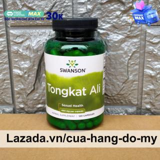 Viên uống Tongkat Ali Malaysia Swanson Passion 400mg 120 Viên - Hỗ trợ tăng cường sức khỏe nam giới thumbnail