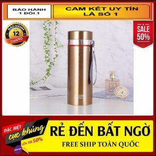 Bình giữ Nhiệt Inox 304 Tráng Bạc An Toàn Cho Sức Khỏe 1000 ML , Giữ Lạnh 12H , Cốc Giữ Nhiệt , Ly Giữ Nhiệt Inox thumbnail