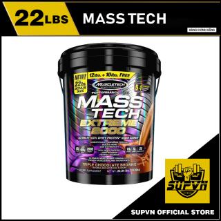 Mass Tech Extreme 2000 22lbs - Sữa tăng cân hấp thu nhanh dành cho người gầy Muscletech Masstech thùng 10kg thumbnail