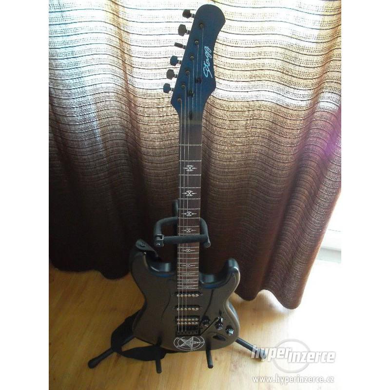 [ Giá Tốt ] Guitar Điện, Guitar Electric Stagg S402GBK ( Màu Đen ) Dáng Standard -Flat S- - Nhập Khẩu Bỉ - Phân Phối ESSOIL Việt Nam