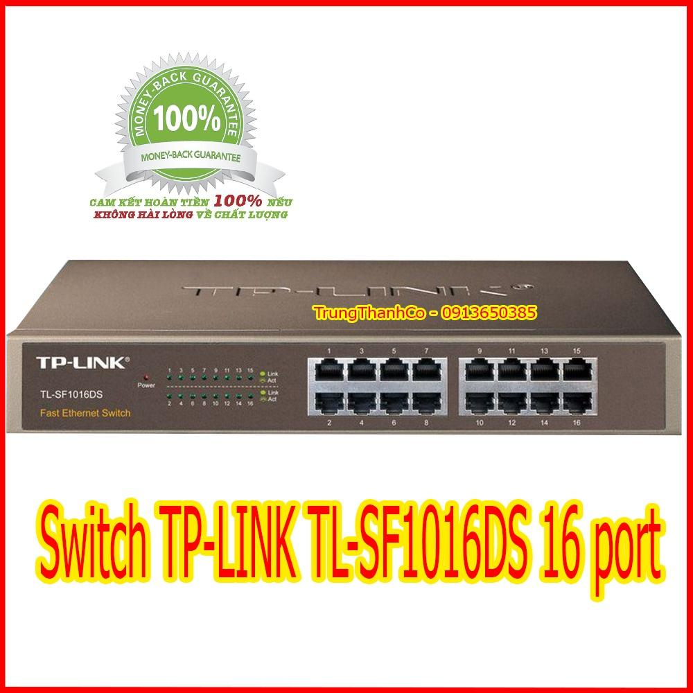 Giá Switch TP-LINK TL-SF1016DS 16 port