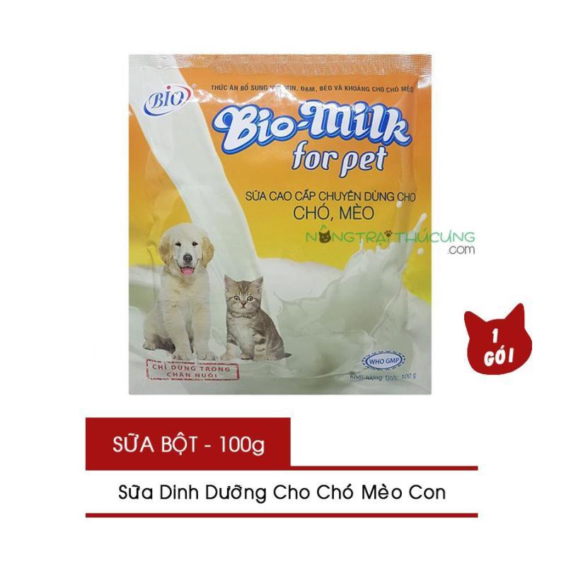 Sữa Bột Dinh Dưỡng Cho Chó Mèo Con - Bio Milk For Pet - Nông Trại Thú Cưng
