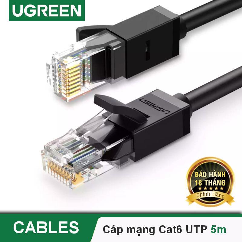 Bảng giá Cáp mạng Cat6 UTP 26AWG CCA UGREEN NW102 sử dụng trên các mạng Ethernet / RJ45 - Hãng phân phối chính thức Phong Vũ