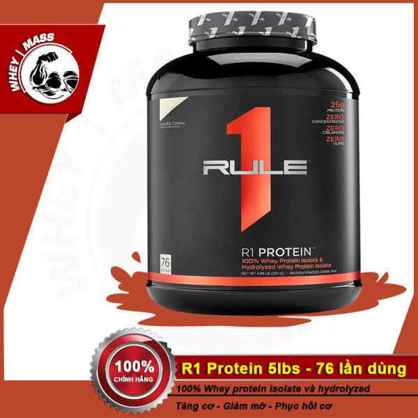Sữa Dinh Dưỡng Tăng Cơ RULE 1 R1 Protein 5Lbs (2.3 KG) cao cấp