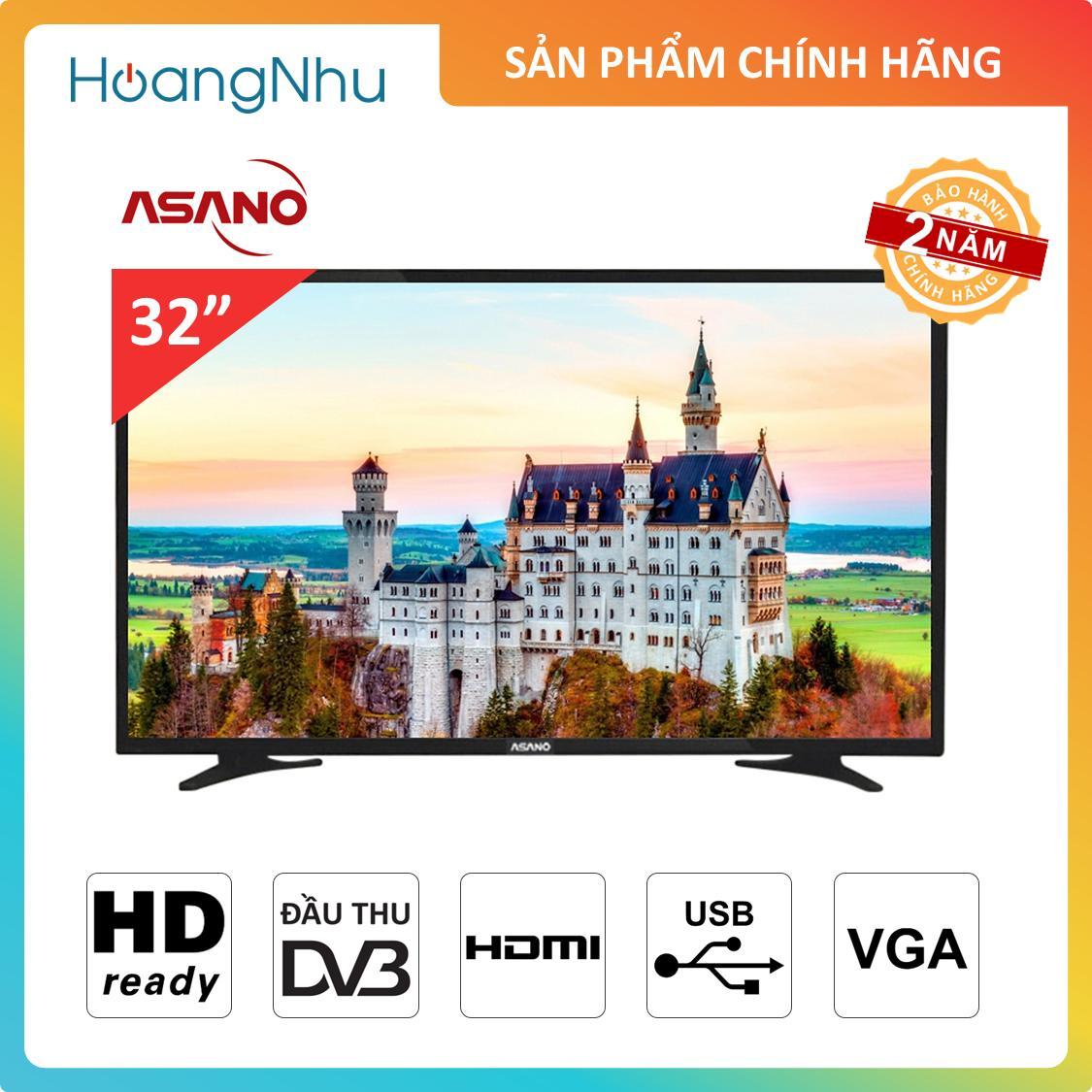 Bảng giá TV LED Asano 32 inch 32EK1 (Tivi kỹ thuật số, màn hình HD Ready)