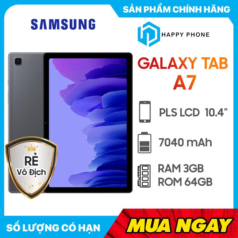 Máy Tính Bảng Samsung Galaxy Tab A7 (3GB/64GB) - Hàng chính hãng, mới 100%, Nguyên Seal, Bảo hành 12 tháng chính hãng