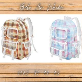 [KÈM ẢNH THẬT] Balo lLocal Brand DEGREY caro đi học, đi chơi thời trang (Chuẩn cao cấp) (Full tag và giấy thơm) thumbnail