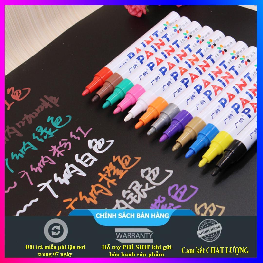 Mua Bút màu Gana dùng vẽ graffiti DIY, vẽ lốp, bút đánh dấu không phai - Hàng chuẩn