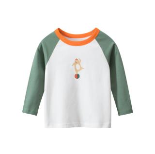 [ VIDEO] H111 Áo thun dài tay bé trai 27KIDS chất liệu 100% cotton in hình CHÚ GẤU (GREEN) cho bé từ 10-33kg (2 tuổi -10 tuổi ) an toàn mềm mịn thích hợp cho bé đi học đi chơi thumbnail