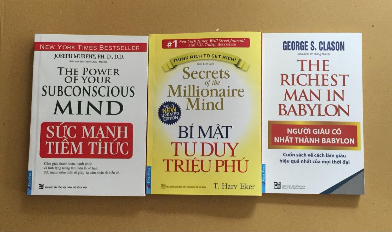 Combo 3 Cuốn Sách Kỹ Năng Bí Mật Tư Duy  Người Giàu Nhât Thành Sức Mạnh Tiềm Thức Siêu Khuyến Mại