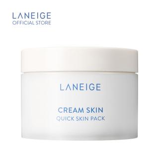 Mặt Nạ Miếng Dưỡng Ẩm Laneige Cream Skin Quick Skin Pack 140Ml (100 Miếng) thumbnail