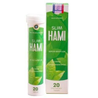 Viên sủi giảm cân Hami Slim thumbnail