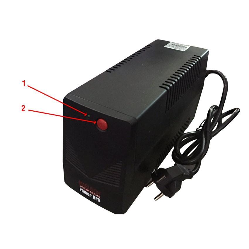 Nguồn lưu điện UPS Maruson POW-500AGMV