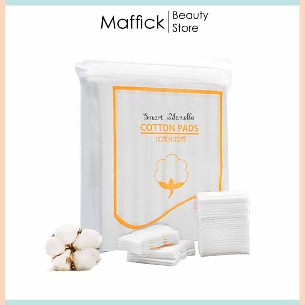 Bông tẩy trang 3 lớp cotton pads 222 miếng Smart Manelle BTT Maffick giá rẻ